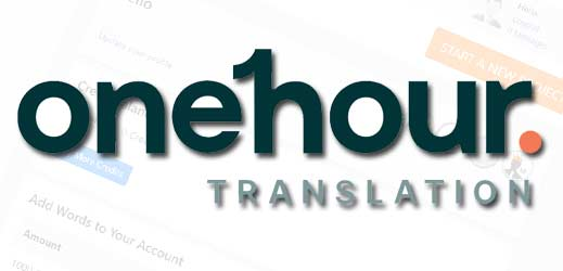 Review one hour translation